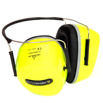 代尔塔103011 F1银石颈带型防噪音耳罩