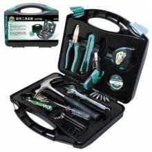 台湾宝工五金工具电讯工具箱52件家用工具套装工具包PK-2052