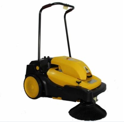 TEJAS TS-10D扫地车电动手推式扫地机 车间学校保洁电瓶清扫车