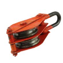 TONGLI/同力 双轮吊环滑车 2T 吊环形式