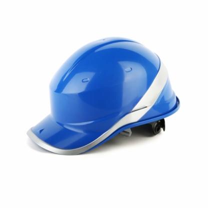 代尔塔安全帽工地劳保施工电力防砸领导高压绝缘荧光反光条透气夏102018