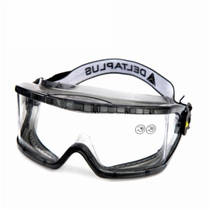代尔塔护目镜防风沙眼镜防尘打磨防护骑行透明防冲击劳保挡风眼罩101104