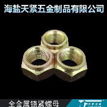 现货供应 压点螺母 DIN980V型 GB6184 全金属锁紧螺母 M16 天紧