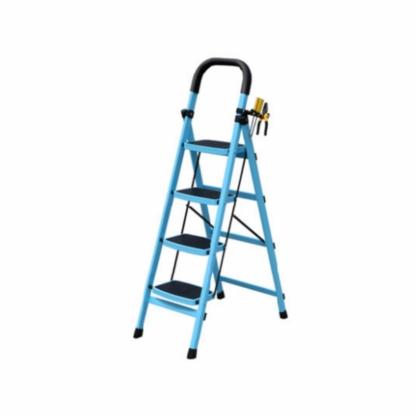 百佳宜梯子家用折叠室内人字梯伸缩加厚工程梯爬梯四步梯五步楼梯