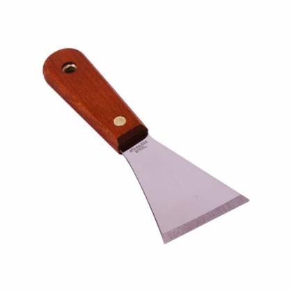 汉得克加厚油灰刀 不锈钢 铲刀 清洁腻子刀批刀抹泥刀 刮刀6cm宽