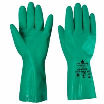 代尔塔201801 经济型丁腈防化手套