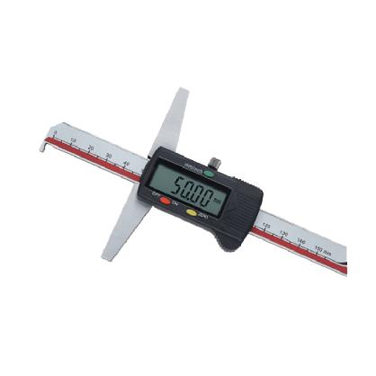 广陆量具单钩头数显深度尺 电子数显深度卡尺 游标深度0-150-300mm 0-150mm