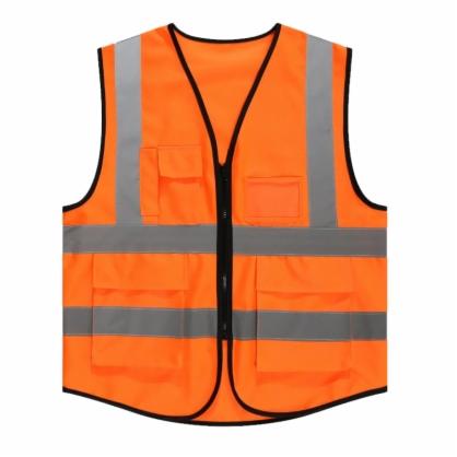 黄色反光马甲安全背心荧光绿超亮施工交通指挥服车用夜光