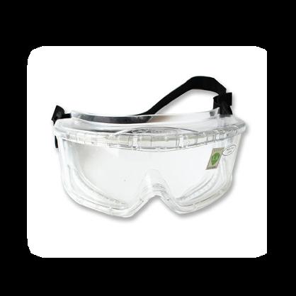 世达护目镜YF0204 劳保防护防雾透明骑行护目镜防尘挡风眼镜防风沙防冲击