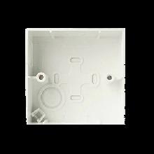 施耐德电气86型通用明盒 墙壁电源开关插座明装底盒 安装盒 E238