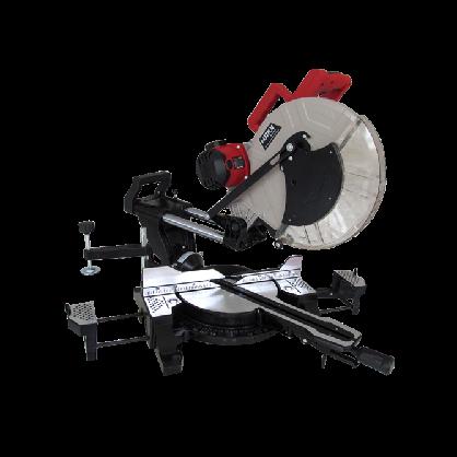豪迈工具 HM1245;12寸拉杆摇头皮带齿轮式 锯铝机/切割机 精品机