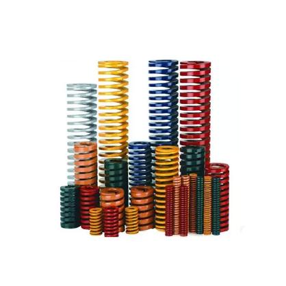 国产模具弹簧|矩形弹簧|黄蓝红绿棕色弹簧|模具配件|模具五金