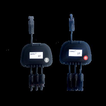 厂家3T光伏汇流盒延长套件带连接器延长线太阳能