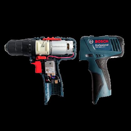 博世TSR1080-2-LI充电钻起子机马达开关外壳电池充电器夹头组