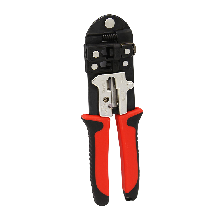 精明鼠NF-5001台湾三用网线钳压线接水晶头夹线双用网钳工具钳