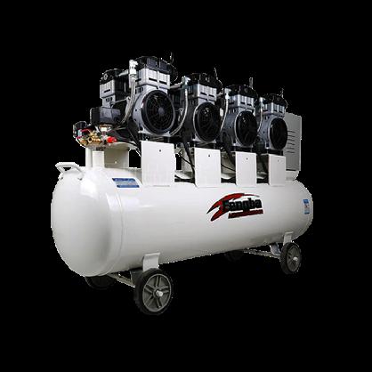 风霸空压机小型静音无油打气泵木工喷漆气磅220V空气压缩机打气机