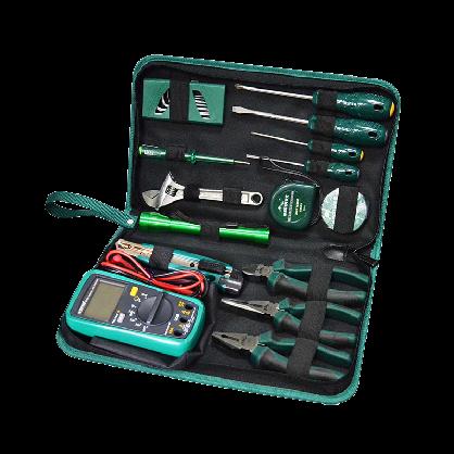 世达工具套装21件电工日常检修组套家用维修工具套装万用表03790